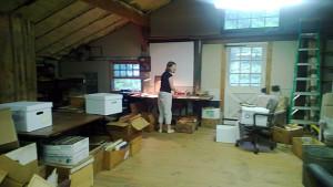 HCHS archivist