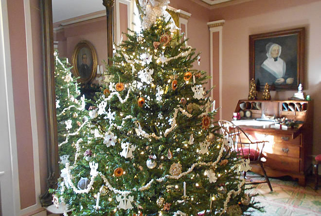 Doric House Holiday Open House & Tours: Dec. 4, 10 & 11