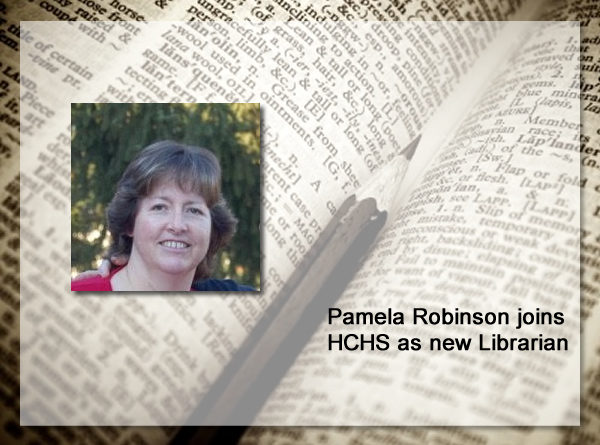 Welcome Pamela Robinson, HCHS Librarian