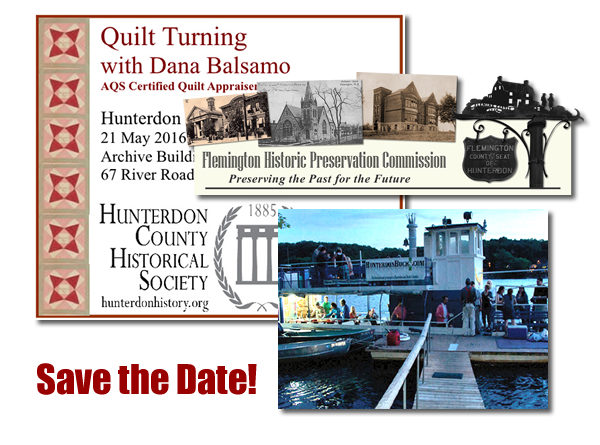 Save the Date! Upcoming Events for 2016