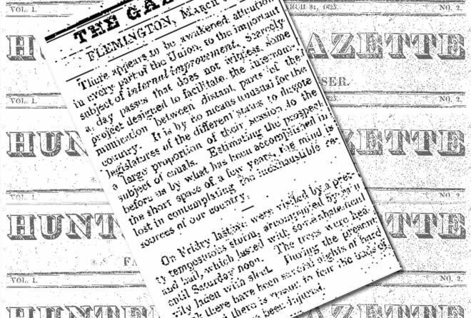 Goodspeed News: Hunterdon's First Newspaper