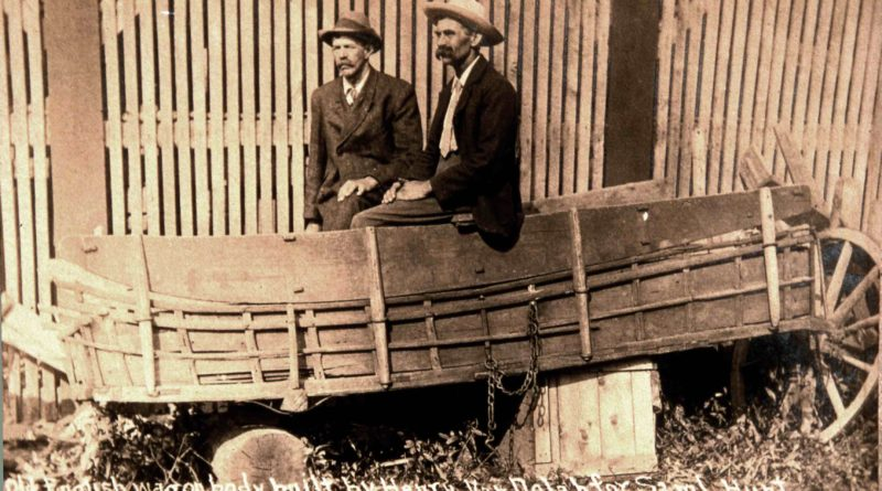 Goodspeed News: They Cut a Wagon in Half