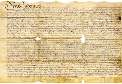 Gems of the Collection: 1677 Indenture Class