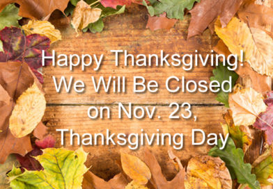 HCHS Closed Thanksgiving Day