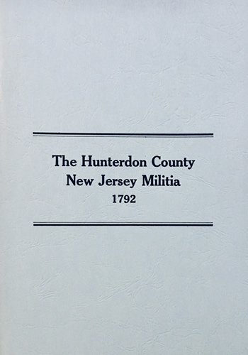 Hunterdon County New Jersey Militia, 1792