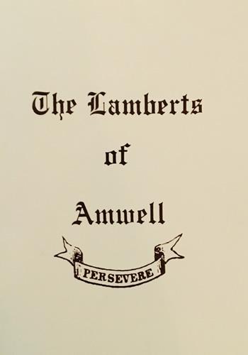 The Lamberts of Amwell