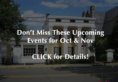 Save the Date! Events for 2021